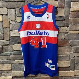 Washington Bullets Jersey Unseld Vintage Rare S